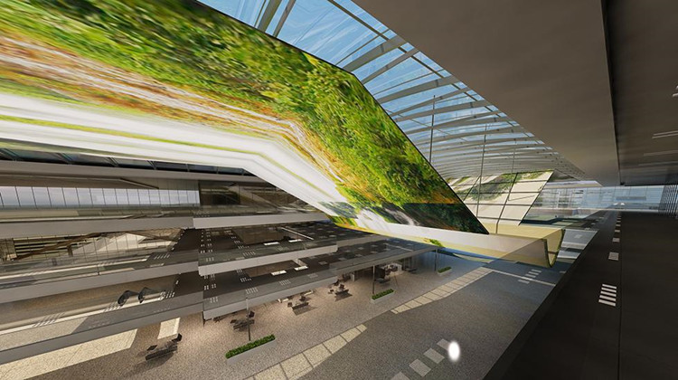 P16 outdoor advertising led display in Czech