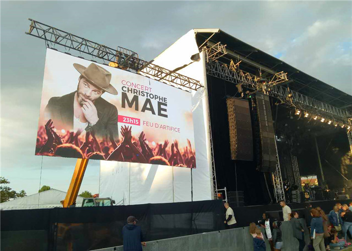 P2 indoor HD led display panels in Xiangtan party show